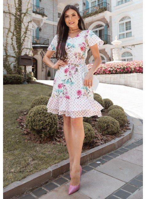 vestido valeria estampa exclusiva jany pim