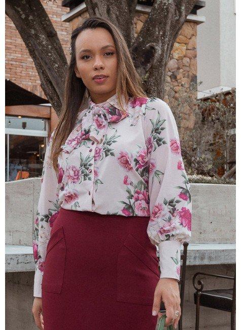 camisa stella estampa exclusiva jany pim