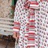 vestido andreia estampa exclusiva jany pim frente baixo detalhe