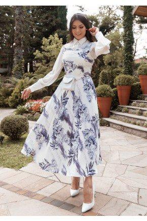 vestido ingridy estampa exclusiva jany pim