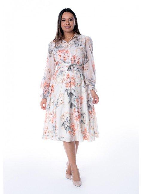 vestido renata estampa exclusiva jany pim