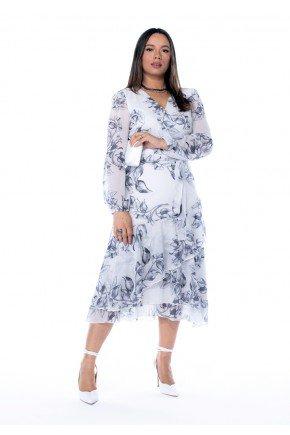 vestido brenda estampa exclusiva jany pim